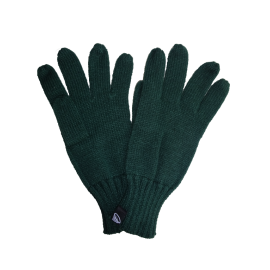 Winter knitted gloves