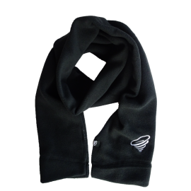 Winter microfleece scarf