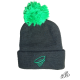 Winter hat with pompon
