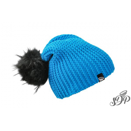 Winter hat with large pompon