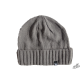 Graphite elegant winter hat