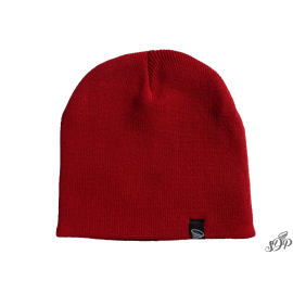 Burgundy winter hat