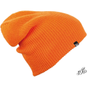 Orange long winter hat