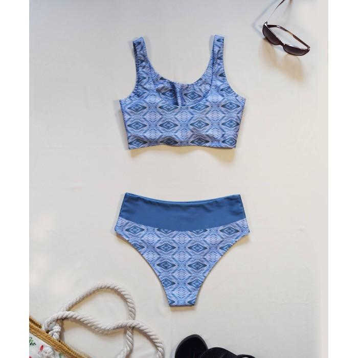 Winter microfleece scarf