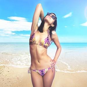 Elegant winter scarf