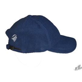 Winter hat with peak and earflaps