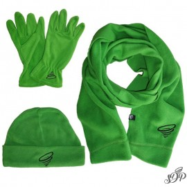 Green winter polar set