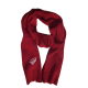 Burgundy elegant winter scarf