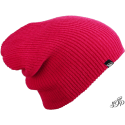 Pink long winter hat