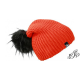 Grenadine winter hat with large pompon